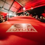 Evenement Eventmore - Reveal véhicule dans concession automobile Toyota à Beauraing