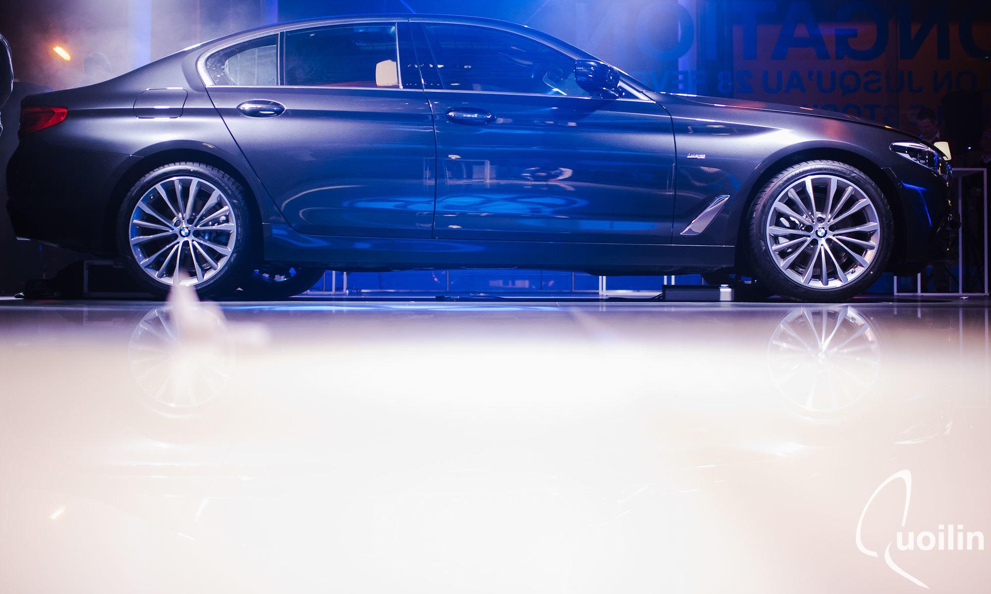 Organisation d'un évènement pour la présentation de la nouvelle série 5 de BMW