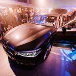 Organisation du Reveal de la série 5 BMW