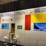 Stand du Parlement Wallon