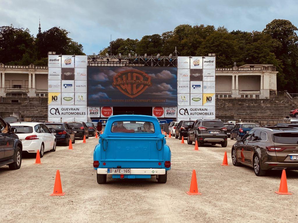 Drive in Cinéma à Namur et à Liège